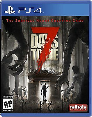 $33.89 - 7 Days to Die - PlayStation 4 Brand New Ps4 Games Sony Factory Sealed 2016