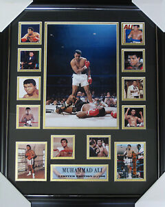 MUHAMMAD ALI SIGNED MEMORABILIA  Limited Edition Picture Frame-NEW '