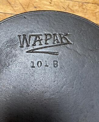 Vintage Wapak Cast Iron Skillet, 101-b, #8