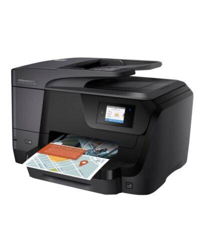 Hp officejet pro 8715 usb wifi all-in-one colour inkjet printer +ink. imprimante