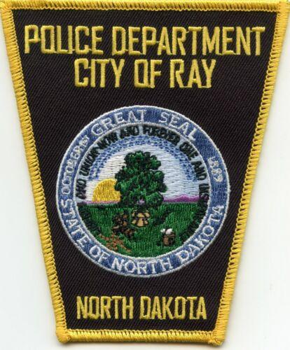 RAY NORTH DAKOTA ND POLICE PATCH