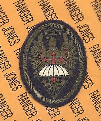 SPAIN Special Forces Airborne Commando Bde patch rubber