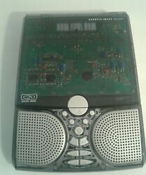 ❤SHARPER IMAGE CD RADIO ALARM CLOCK SOUND SOOTHER 20 SOUNDS RARE VINTAGE EUC!