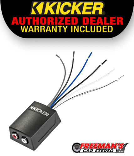 KICKER 46KISLOC2 Speaker Wire-to-RCA Line-Out Converter w/ LOC+12v