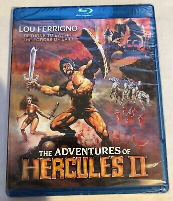 The Adventures Of Hercules II [Brand New Blu-ray] Widescreen Shout Factory (Movie Hercules 2017)