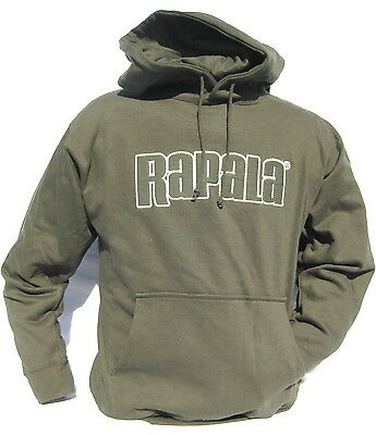 Cabela's Rapala Men's Athletic Fishing Hunting Hoodie Size Medium Or Large