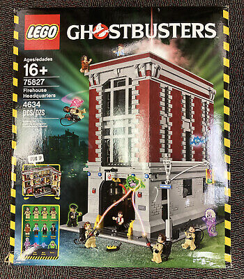 (75827) LEGO Ghostbusters Firehouse Headquarters (2016)  4634pcs Item: 6137903