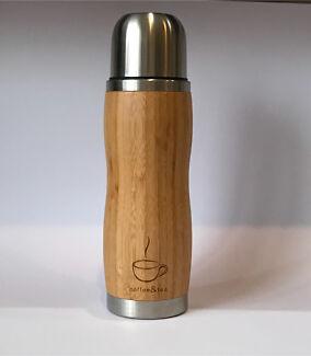 Coffee&tea vacuum flask bamboo stainless steel  Mug/Cup
