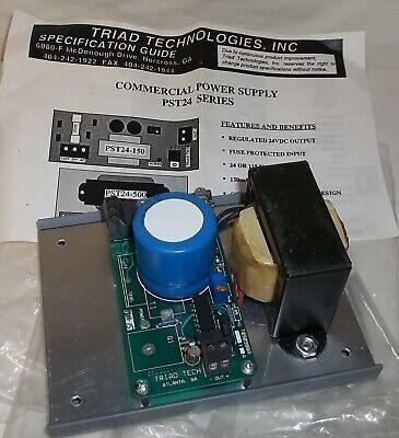 Triatek Triad Regulated Adjustable 7-30vdc Isolation Power Supply Pst24-500 Nib