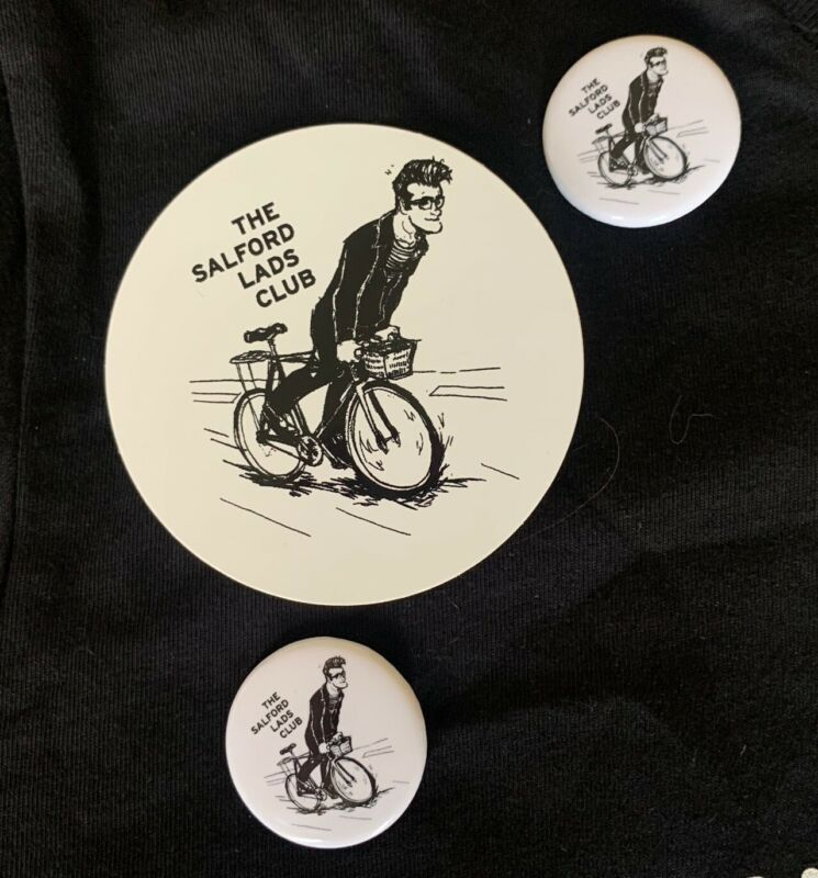 The Smiths/Morrissey/Salford Lads Club sticker and button pack - Free Shipping