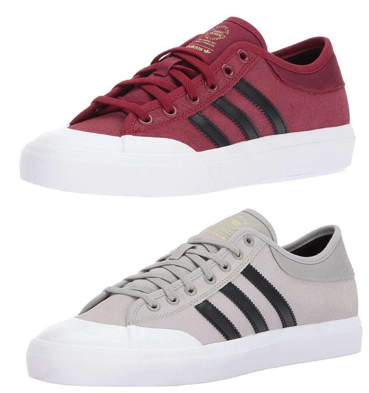adidas Originals Men's Matchcourt Skateboarding Shoes 3-Stripes Casual Sneakers