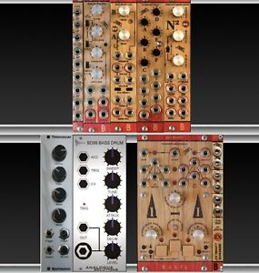 Eurorack Modules for Drum Sounds