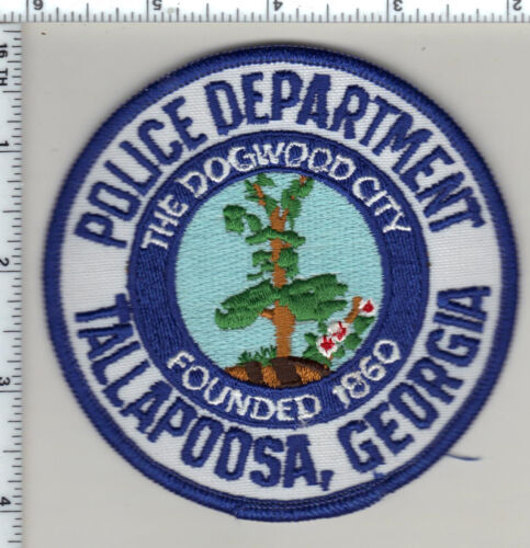 Tallapoosa Police (Georgia)  Shoulder Patch - new from 1990