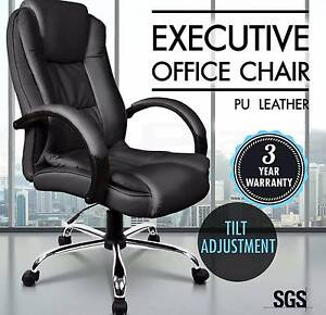 Executive Premium PU Faux Leather Office Computer Chair New Perth Perth City Area Preview