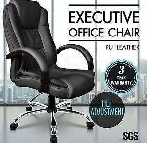 Executive Premium PU Faux Leather Office Computer Chair Brisbane City Brisbane North West Preview