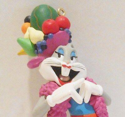 1997 Hallmark Bugs Bunny Fruit Salad Latin Dance Carmen Miranda Ornament