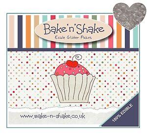 Bake-n-Shake-100-Edible-Silver-Cupcake-Cake-Glitter-Cake-Decoration