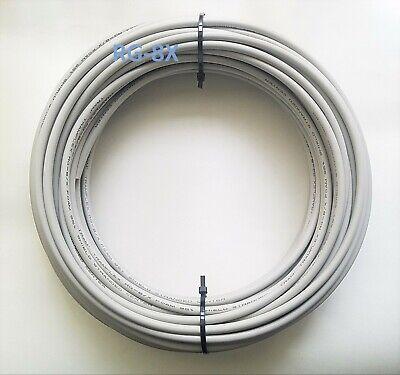 100 feet Grey Tramflex Coaxial Cable RG8X Bare Copper Braid 8XG Ham