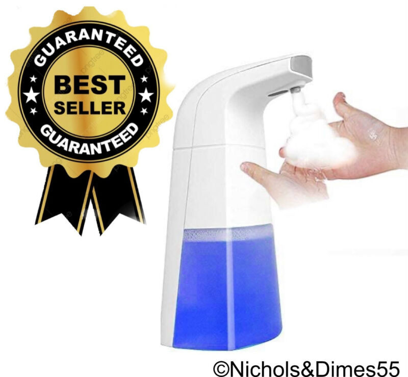 Automatic Foaming Touch Less Soap Dispenser, Bathroom / Kitchen. Hand Free Safe
