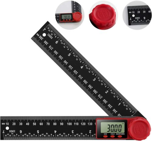 Digital Angle Finder Protractor Ruler Digital Goniometer 200mm 360 °LCD Display