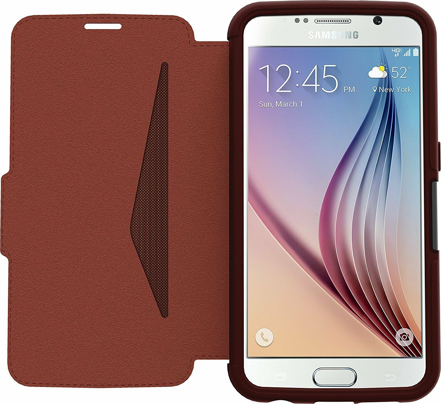 OtterBox Strada Folio Case for Samsung Galaxy S6 Dark Red *C