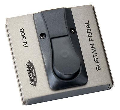 Digital Piano E-Gitarre Effektgerät Verstärker Fußschalter Sustain Pedal Taster