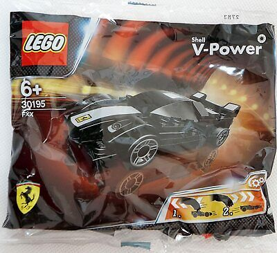 Genuine Lego Shell V Power Ferrari FXX Polly Bag  Brand New 30195