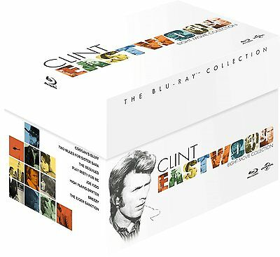 Clint Eastwood   The Blu Ray Collection  8 Discs   Region Free   New