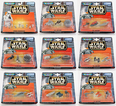 Star Wars Micro Machines Collection Galoob 1997/98 65860 66080