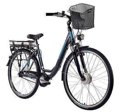 Zündapp Bicicleta Eléctrica 28 Pulgadas Mujer 7-Gang de Ciudad Pedelec