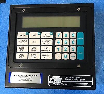 Ctm 360 Label Applicator Display Ass-200-0125