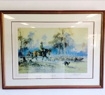 Limited Edition Darcy Doyle Framed Print Neath Cessnock Area Preview