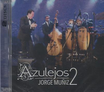 Azulejos 2 En Vivo NEW Jorge Muniz 1 CD / 1 DVD SHIPS NOW !