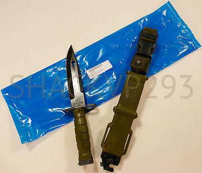 Купить US M9BAYONET COMBAT KNIFE TRI-TECHNOLOGIES W/ SCABBARD USGI NEW IN PACKAGE