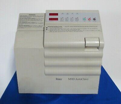 Midmark Ritter M9 M9d M9d-001 Autoclave Steam Automatic Sterilizer