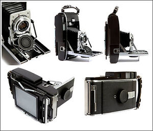 Polaroid 110A Rangefinder Camera Professionally Converted to shoot 4X5 Film