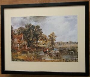 The Haywain by Constable, 20''x16'' frame, Masters paintings