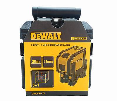 Dewalt Combilaser Self-leveling 5-spot Largeur Horizontal Laser Dw0851