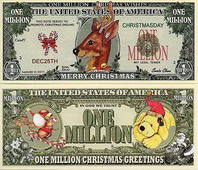 Christmas - Reindeer  Novelty Money ()