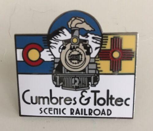 Railroad Hat-Lapel Pin/Tac- CUMBRES & TOLTEC SCENIC RAILWAY (C&T) #1732-NEW