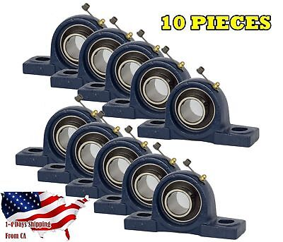 Ucp205-16 Pillow Block Bearing 1 Bore 2 Bolt Solid Base 10pcs