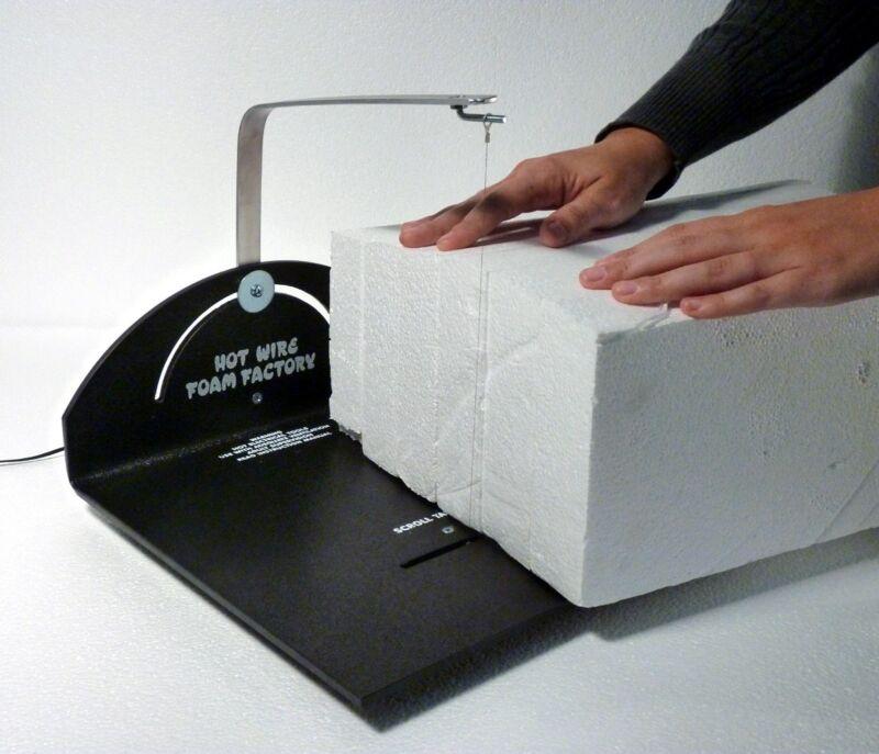 Hot Wire Electric Foam Styrofoam Cutting Cutter Scroll Table Machine - EPS/XPS