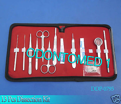 13 Pcs Dissection Kit-ddp-0795