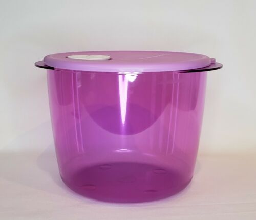 Tupperware Rock N Serve 14 Cups (3.3L) Microwave Safe Container Purple NEW