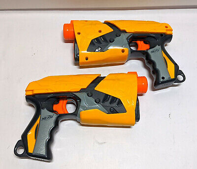 Lot of 2 Nerf Dart Tag Sharp Shot Blaster Guns