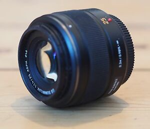 Panasonic Leica 25mm f1.4 for micro 4/3s for sale/trade