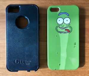 iPhone 5s cases - OTTERBOX & PICKLE RICK