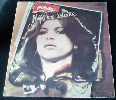"""LP Vinyl Schallplatte 12""""    PUHDYS - Heiß wie Schnee    Amiga 855755 DDR 1980"""