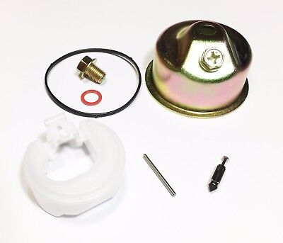 Carburetor Kit Fits Honda GX120 GX160 GX200 Needle Bowl Float Gasket Seal Pin
