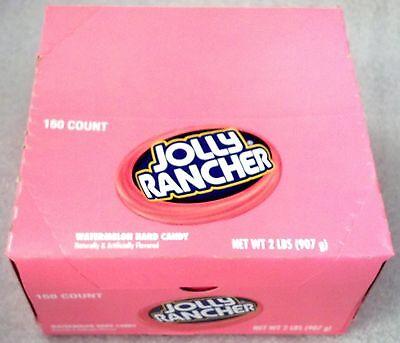 Jolly Rancher Watermelon - 2 lb bag mfg sealed bag with display box* - Watermelon Bag
